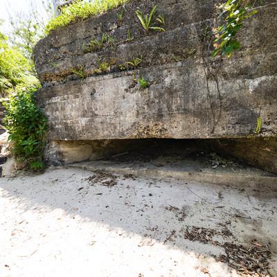 徳之島に現在も残る戦跡「トーチカ」の写真