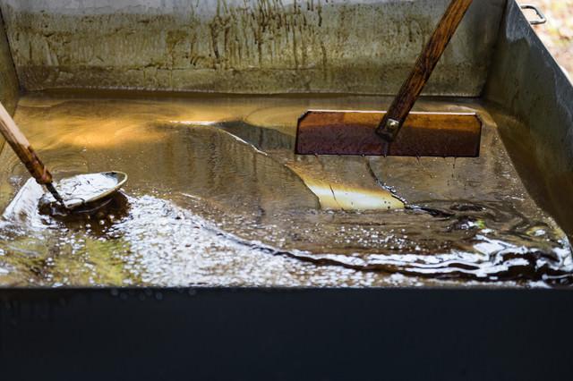 黒砂糖作り(徳之島町黒砂糖まつり)の写真