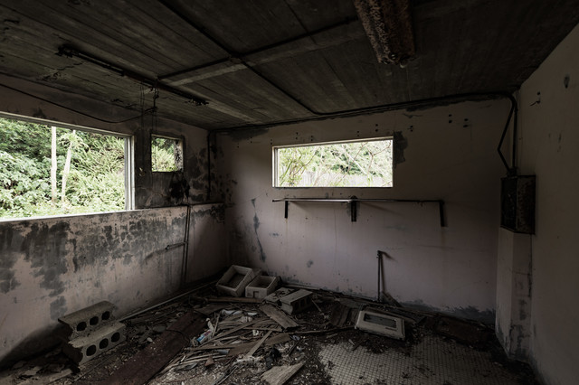 徳之島ニューオータニ・ホテルの廃墟の写真
