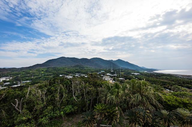 金見崎展望台からの風景の写真