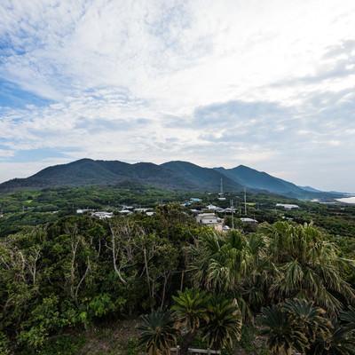 「金見崎展望台からの風景」の写真素材