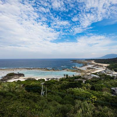金見崎新展望台からの景観の写真