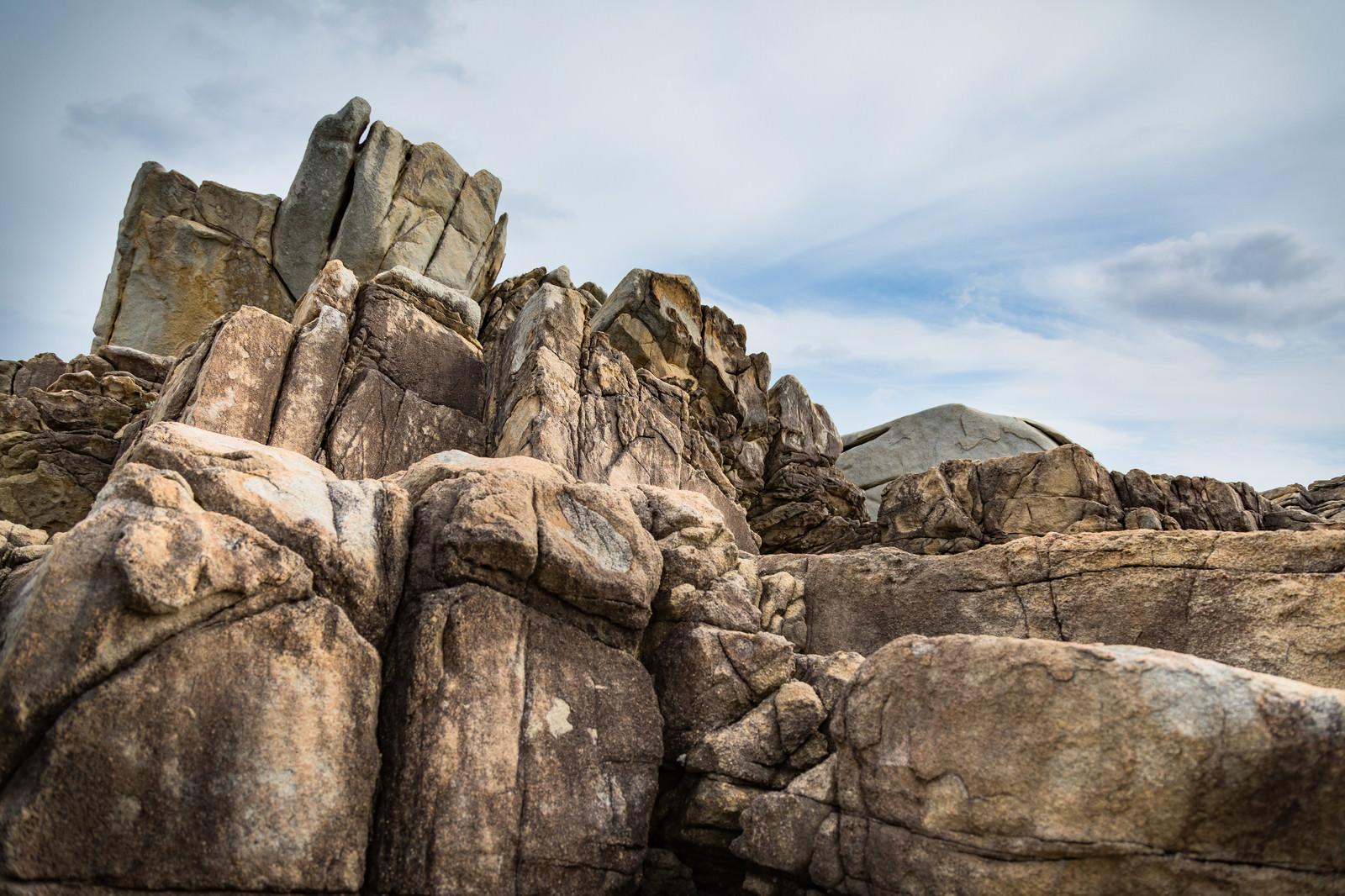 「花崗岩の巨岩(ムシロ瀬)」の写真