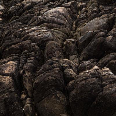 「樹皮のような岩石」の写真素材