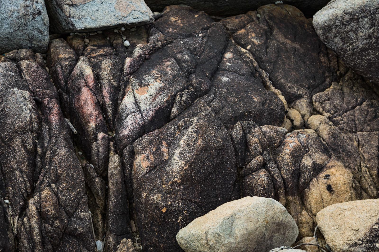 「ムシロ瀬の岩場」の写真
