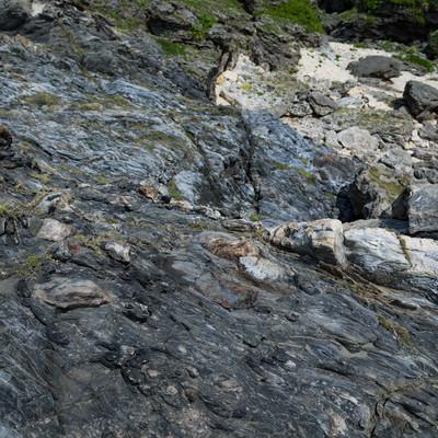 「メランジ(メレンゲと同義)堆積物」の写真素材