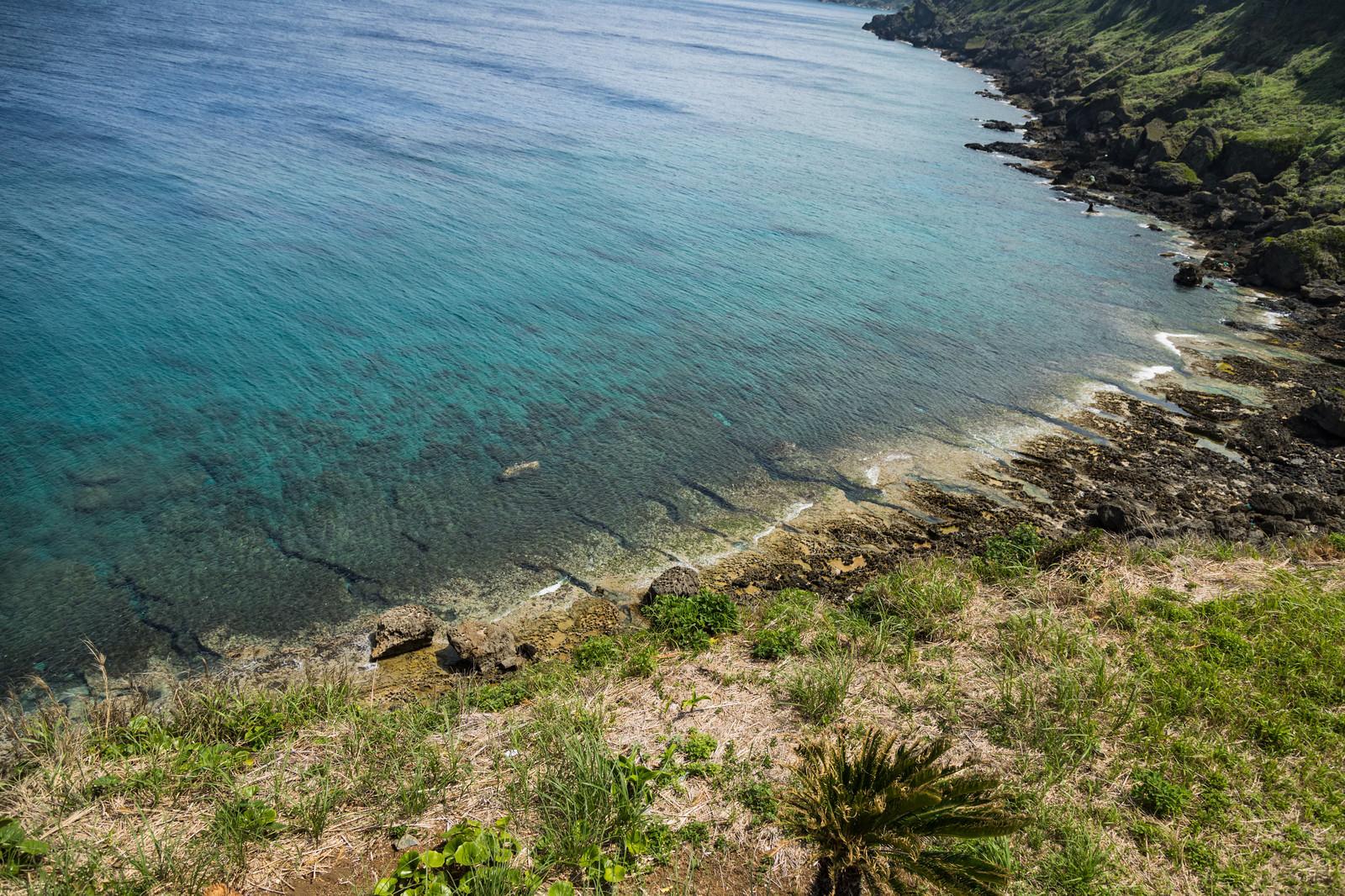 「犬田布岬の海岸」の写真
