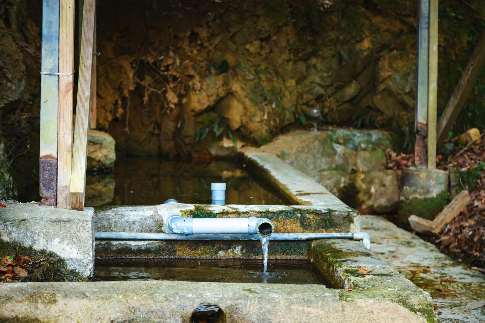 「徳之島の貴重な湧水」の写真