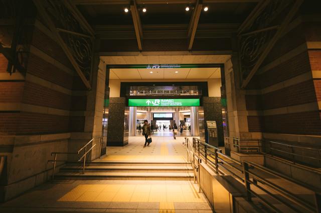 JR丸の内北口改札前(通路)の写真