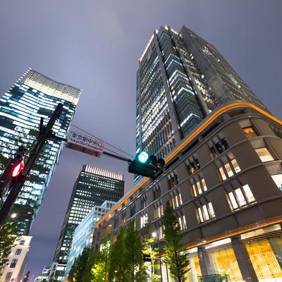東京駅中央口(ビル群)の写真