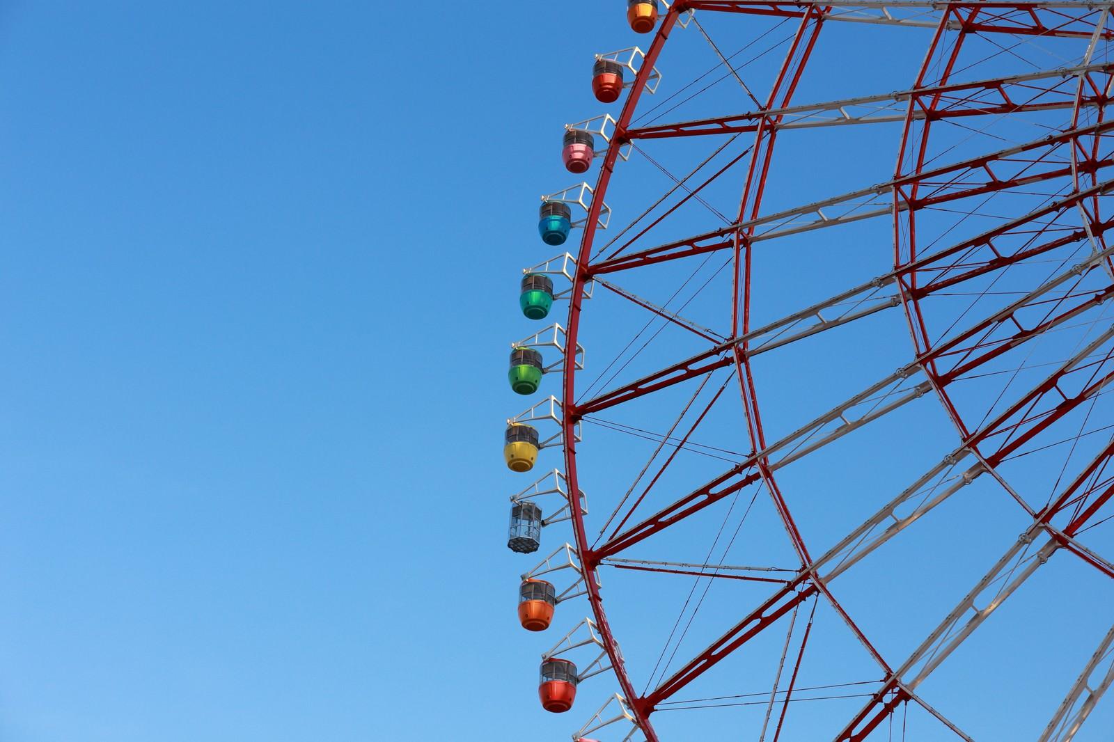 「青空の観覧車」の写真