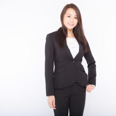 「役員クラスぽい女性のプロフィール写真」の写真素材