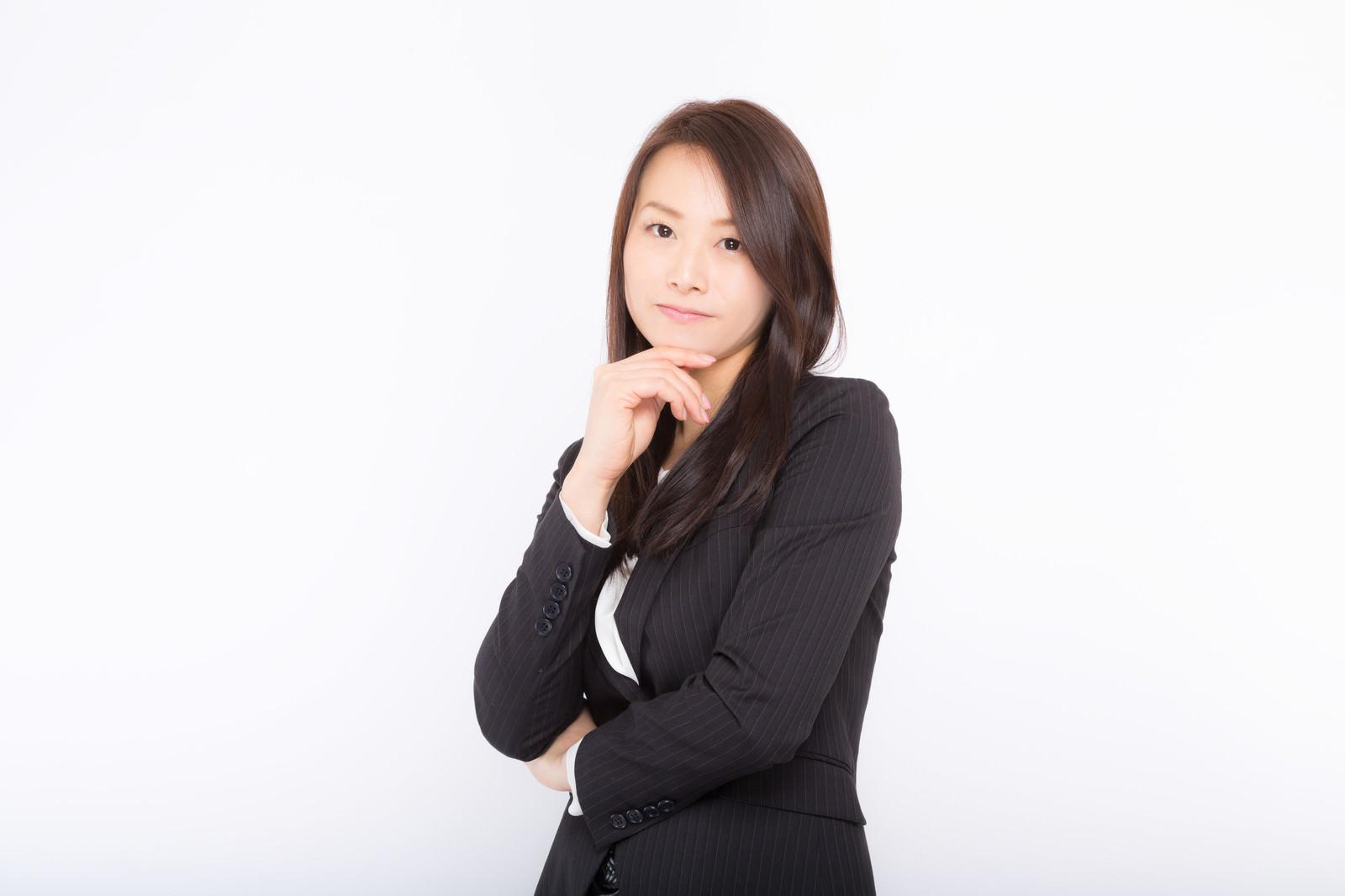 「ビジネスに成功した系の女性ビジネスに成功した系の女性」[モデル:土本寛子]のフリー写真素材を拡大