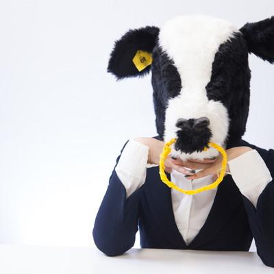 「恋するエト牛」の写真素材