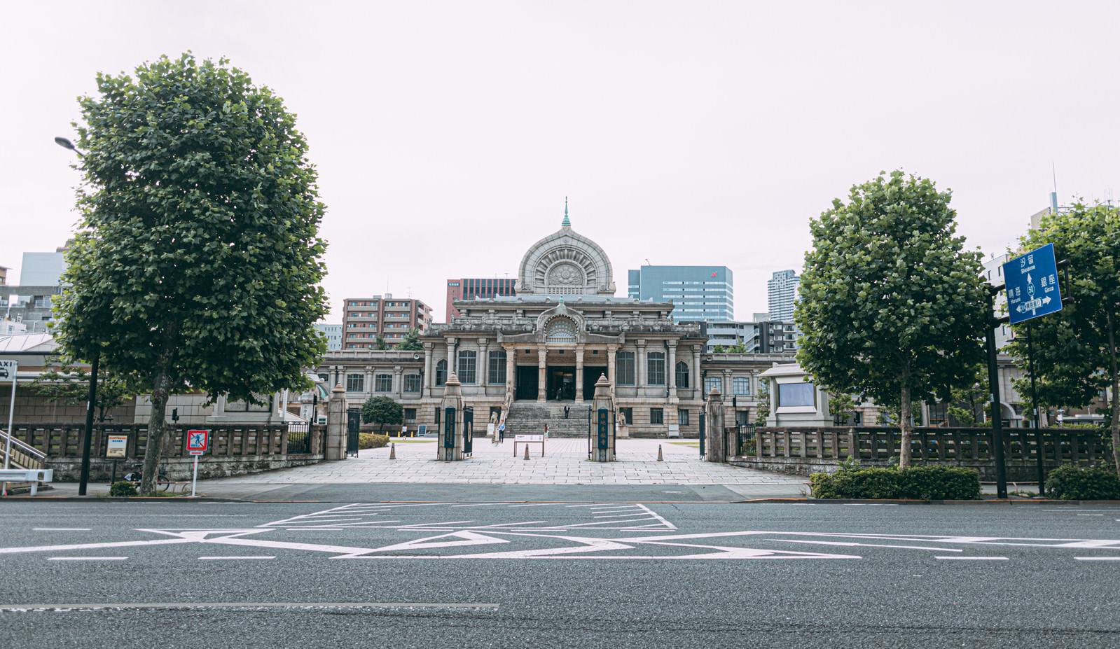 「築地本願寺本堂」の写真
