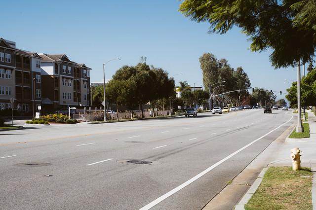LAの街並みの写真