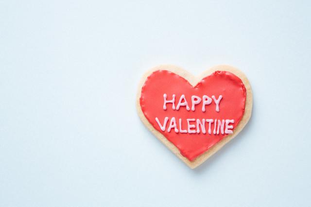 HAPPY VALENTINE(ハートのクッキー)