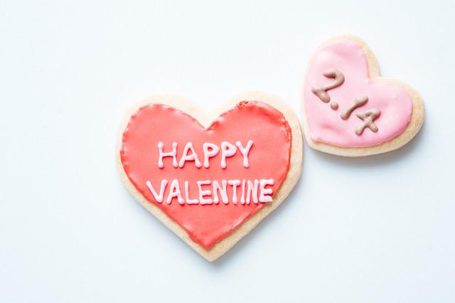 2月14日のハッピーバレンタインの写真