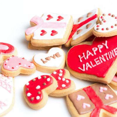 ハッピーバレンタイン(アイシングクッキー)の写真