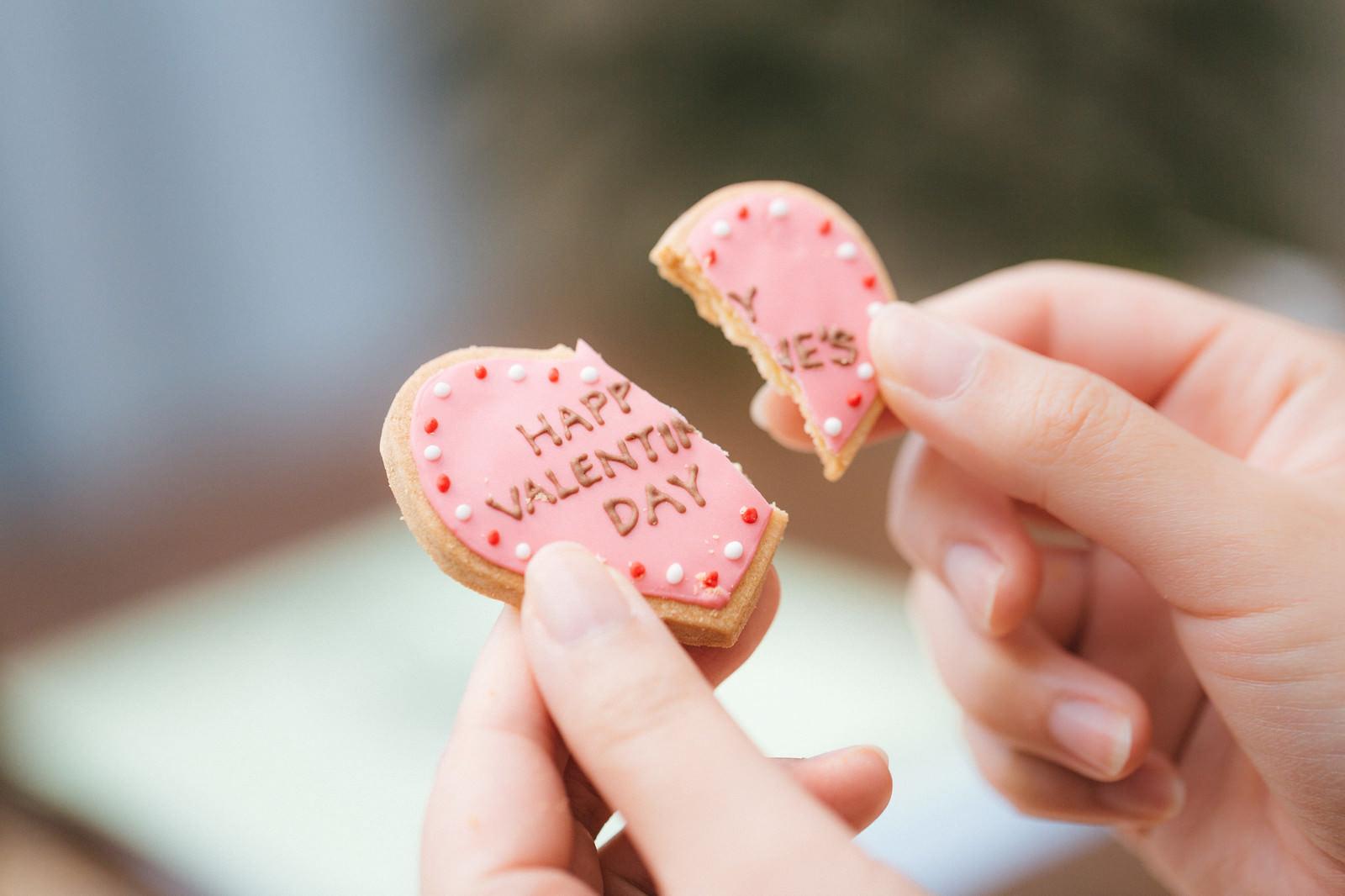 ハッピーバレンタイン終了のお知らせのフリー素材