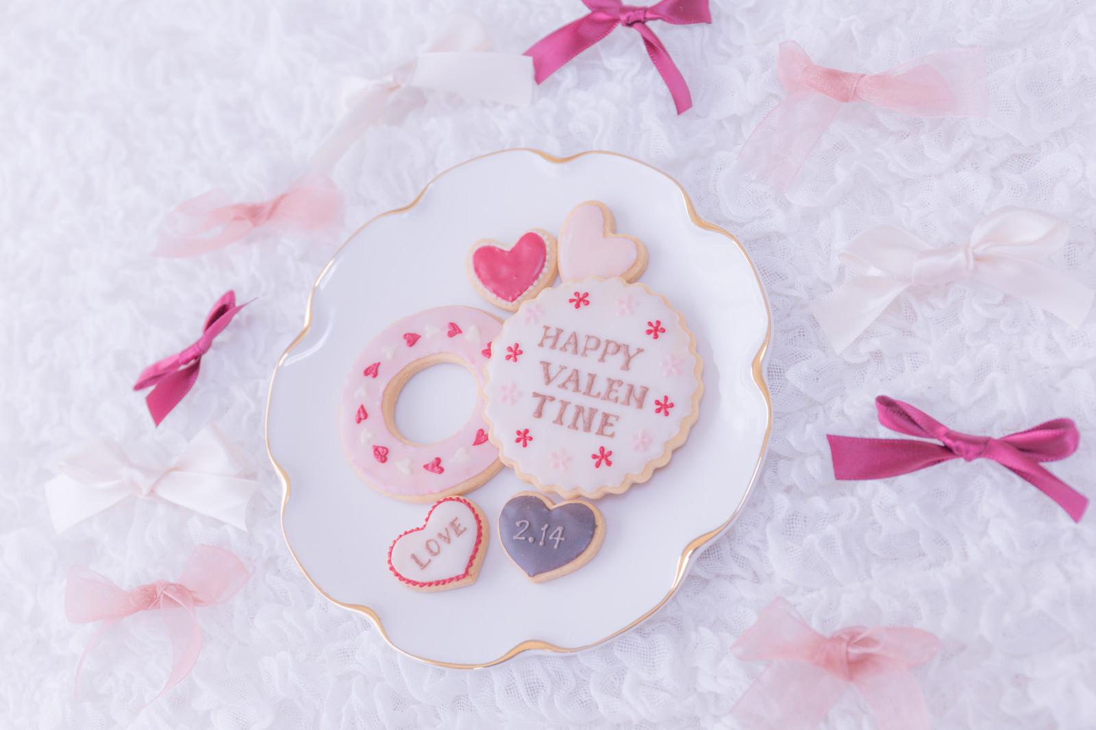 「2.14 バレンタインデーのクッキー」の写真