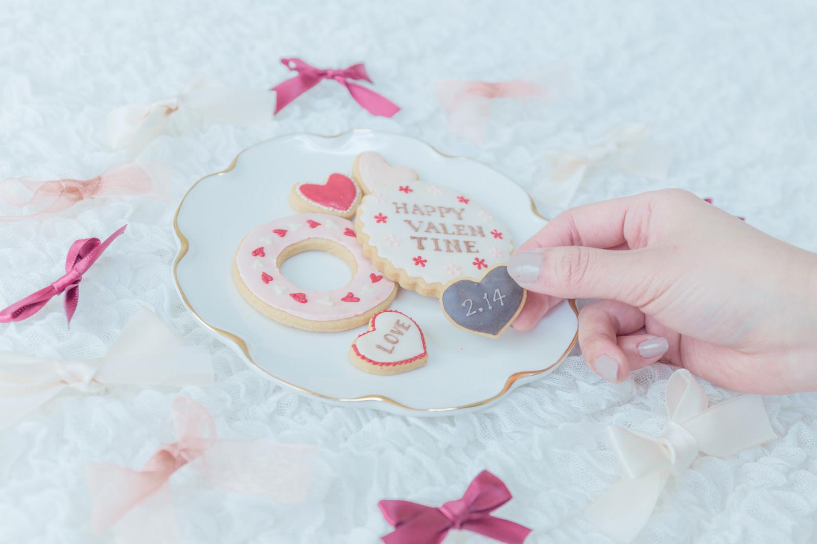 「2月14日はバレンタインデー」の写真