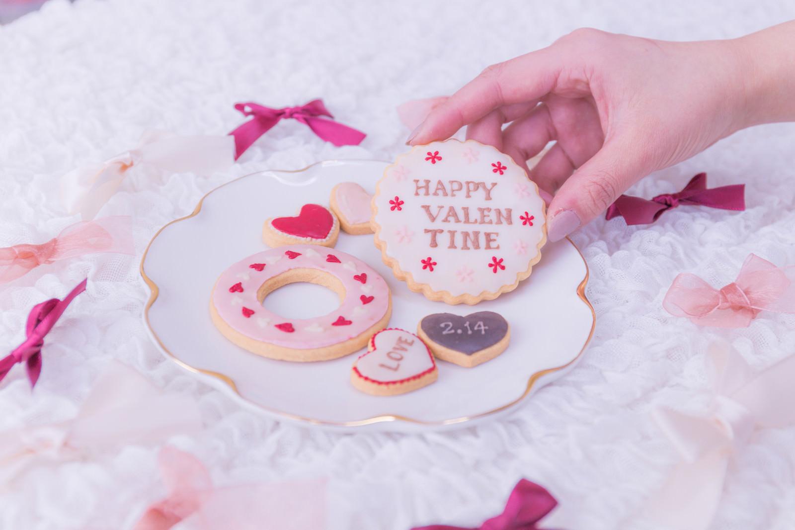 「HAPPY VALEN TINE」の写真