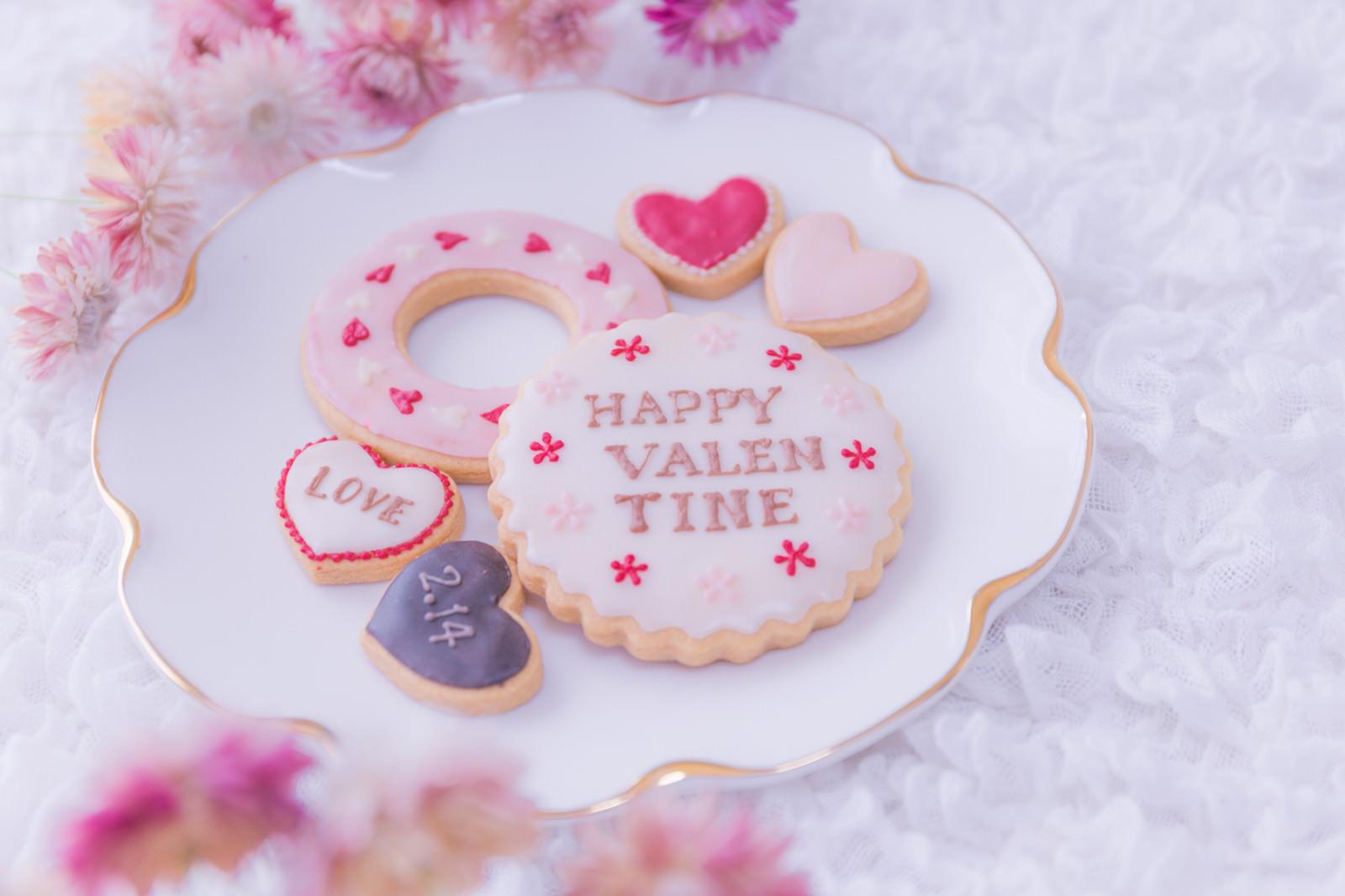 バレンタインの思い出のフリー素材