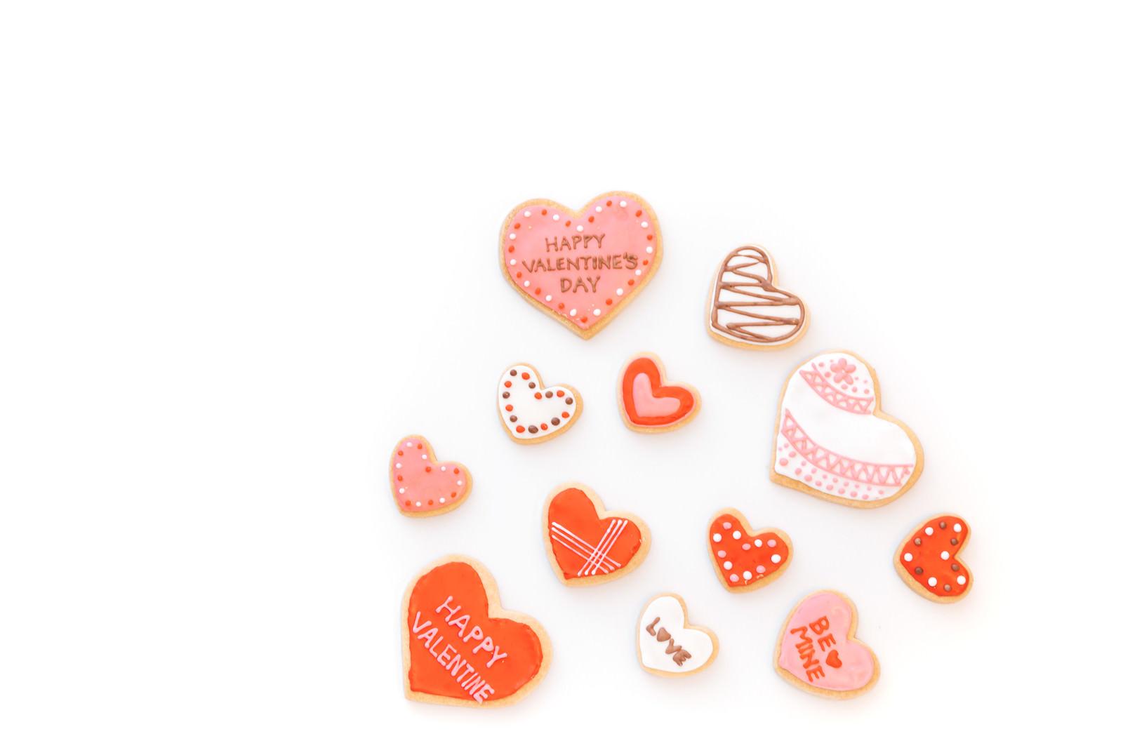 「ドキドキ!バレンタインクッキー | 写真の無料素材・フリー素材 - ぱくたそ」の写真