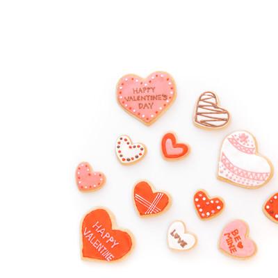 ドキドキ!バレンタインクッキーの写真