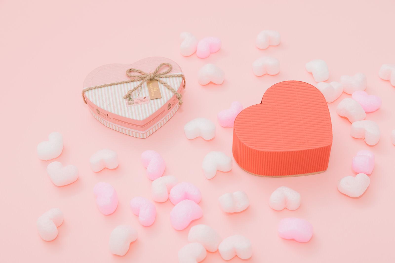 「ラブラブ・バレンタインラブラブ・バレンタイン」のフリー写真素材を拡大