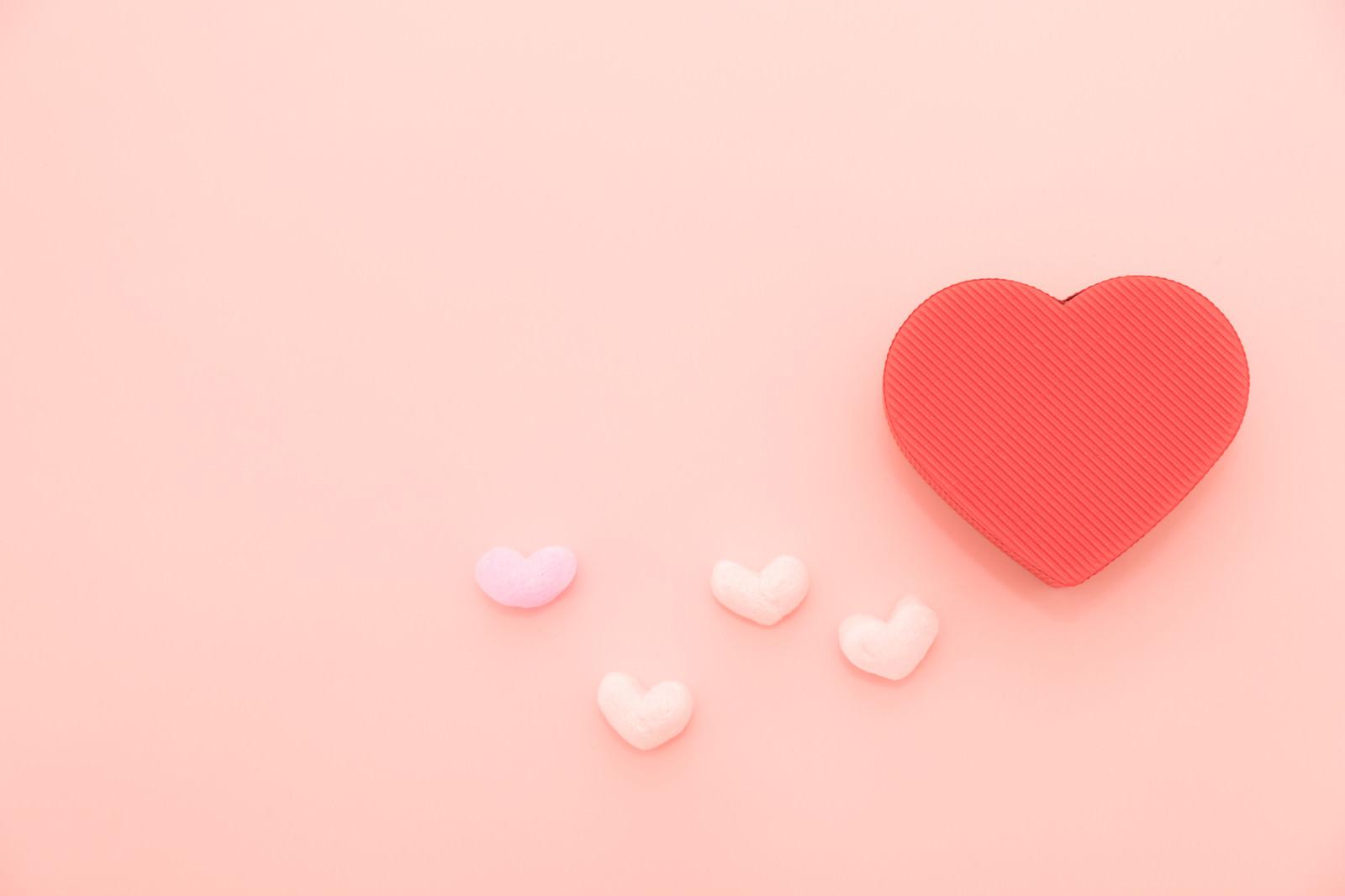 「想いよ届け(バレンタインデー)想いよ届け(バレンタインデー)」のフリー写真素材を拡大