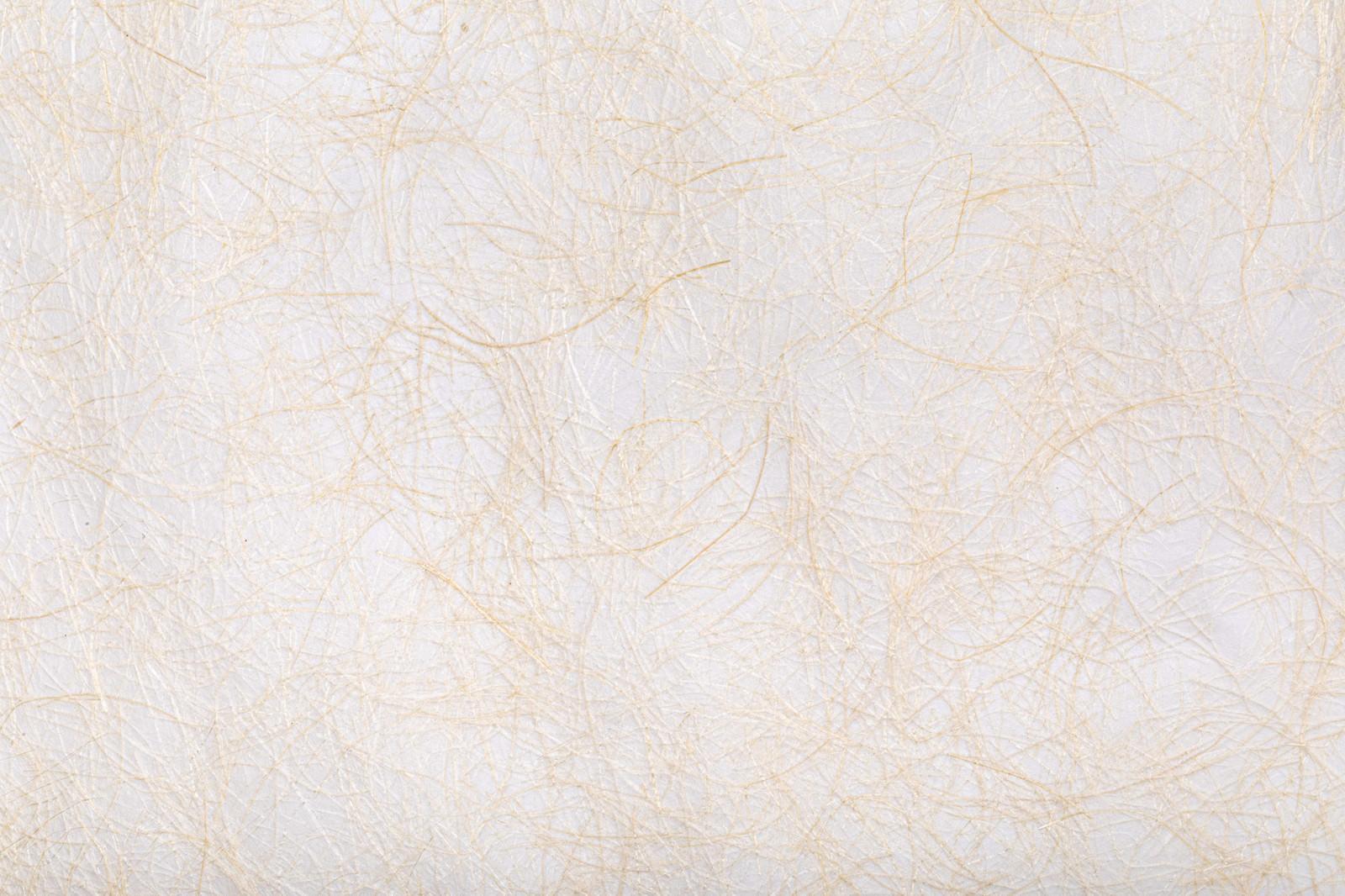 「茶色の繊維が絡む和紙」の写真