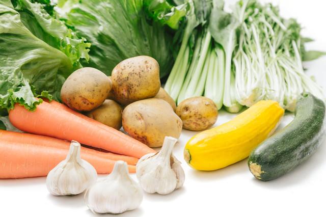 大刀洗の採れたて野菜の写真