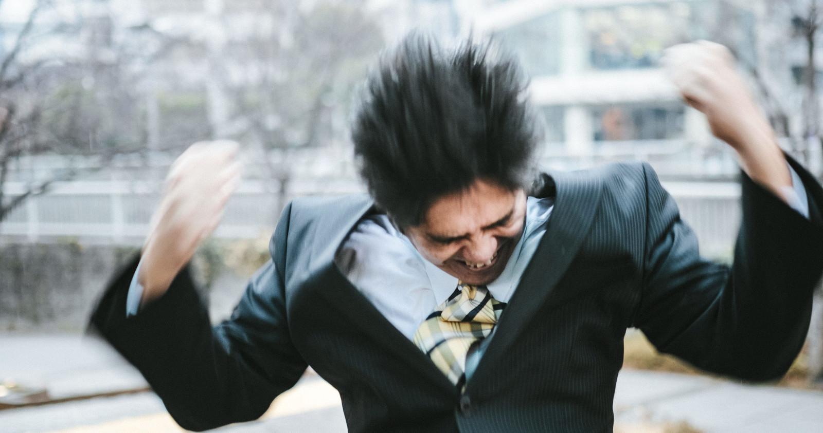 「激しく怒る中年部長激しく怒る中年部長」[モデル:よたか]のフリー写真素材を拡大
