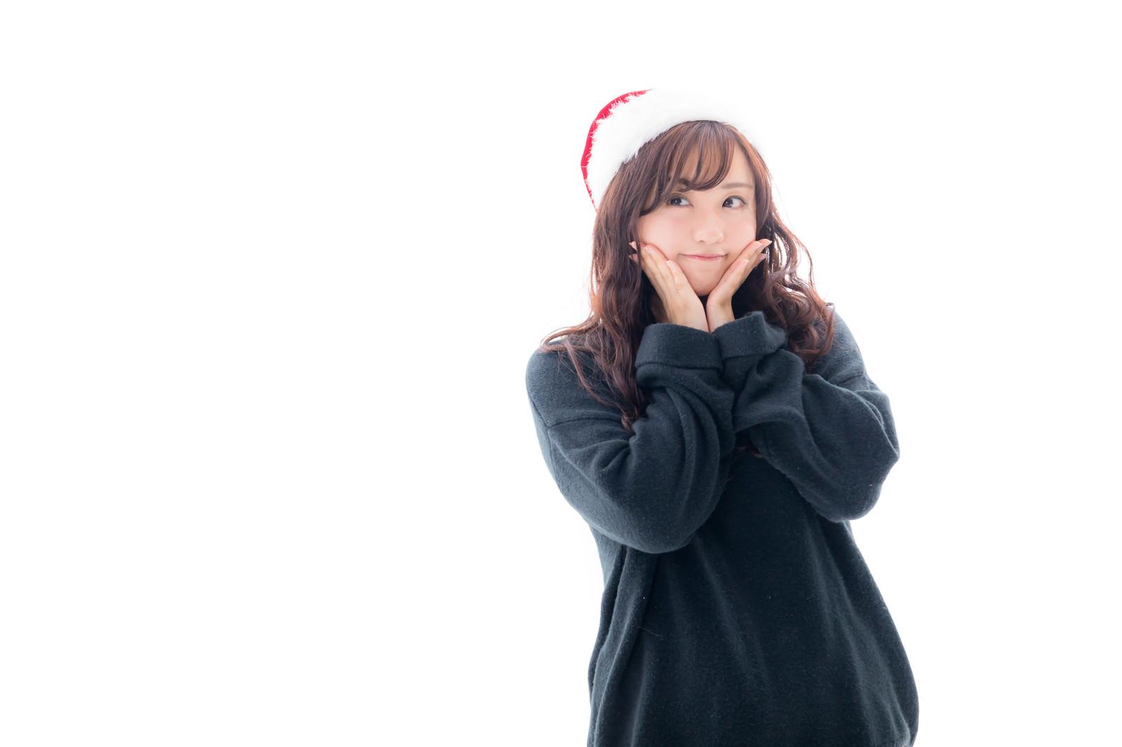 「クリスマスが待ちきれない女子」の写真[モデル:河村友歌]