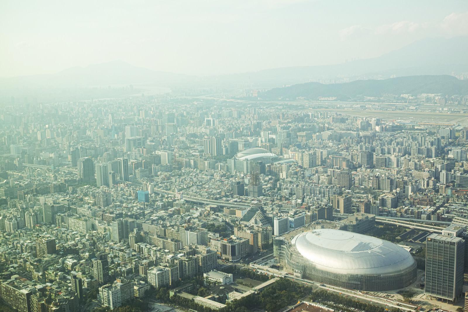 「台北の街並み(台湾)」の写真