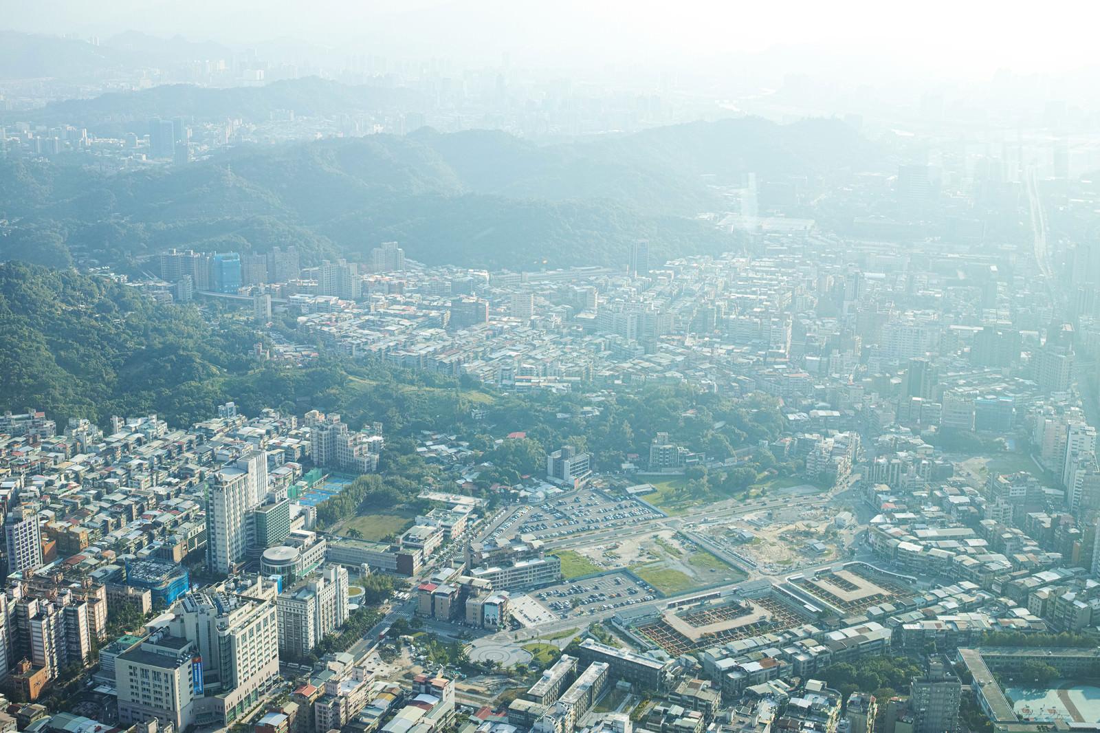 「台北の自然と街並み(台湾)」の写真