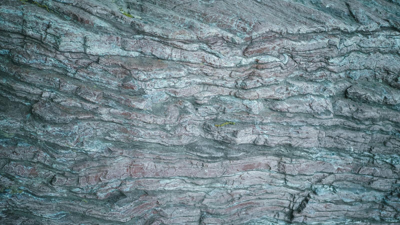 「一枚岩のテキスチャ」の写真