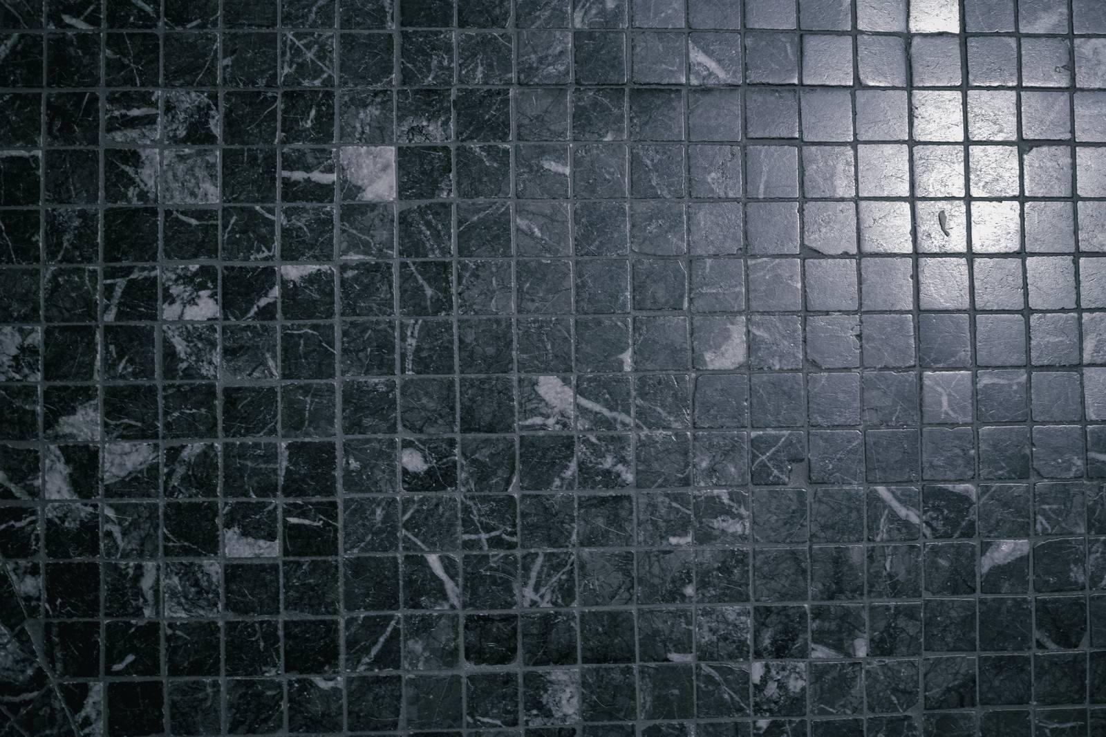 「大理石のような模様のタイル(テクスチャ)」の写真