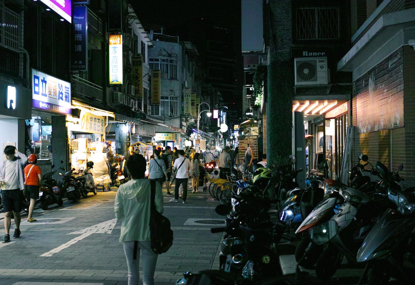 「台湾の雑居な夜」の写真