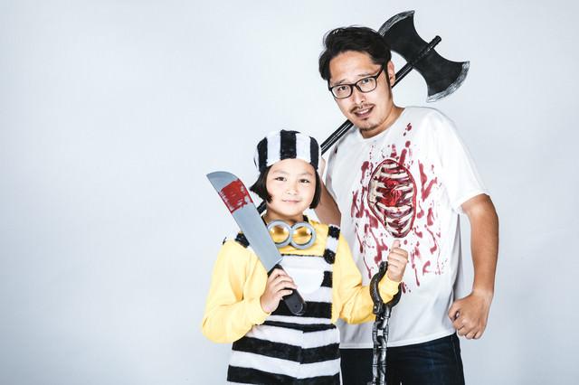 ハロウィン仮装に力を注ぐの写真