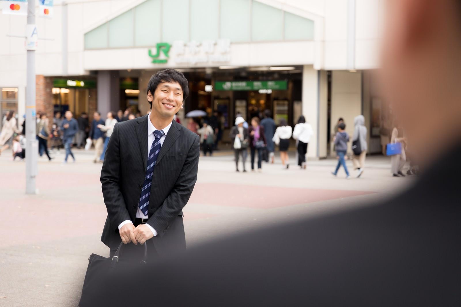 「カモネギクライアントの到着」の写真[モデル:大川竜弥]