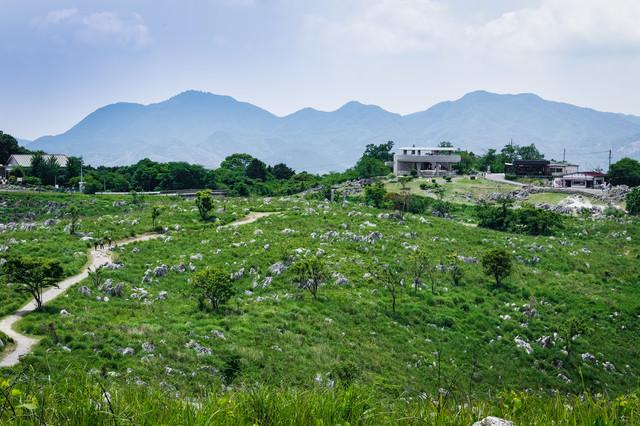 若竹山山頂からの景色(山口県美祢市)の写真