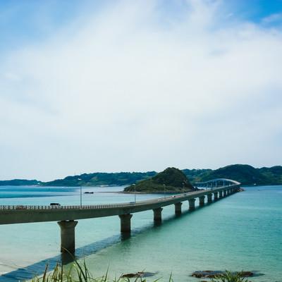 角島大橋(全長1,780 m)の写真
