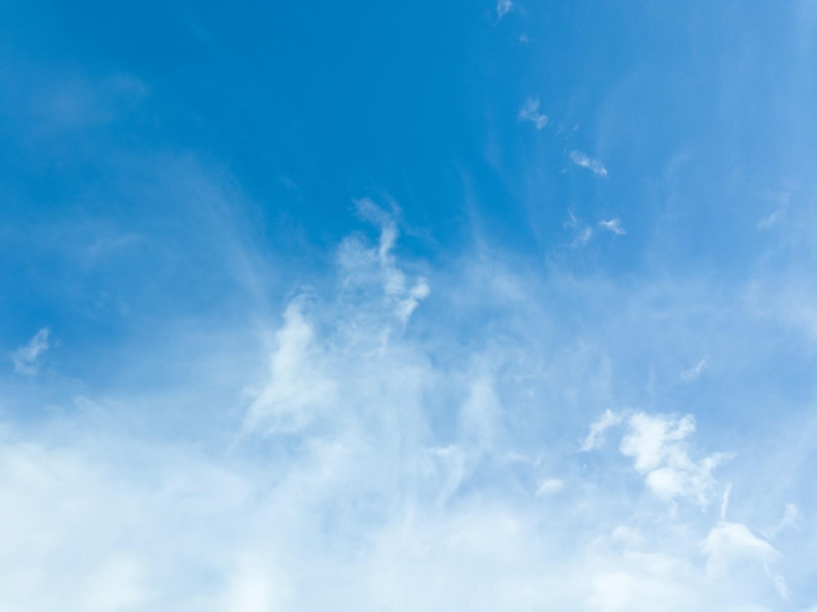 「薄雲のいい天気」の写真